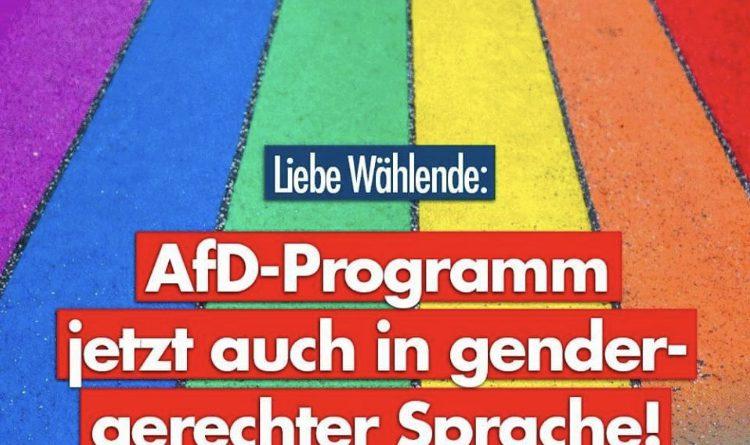 AfD Aprilscherz